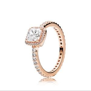 Pandora Rose Gold Timeless Elegance Ring